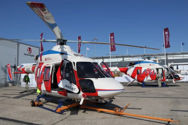 Paris Air Show: Russian Helicopters Demonstrates a Modernized Ansat Concept