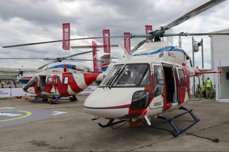 Paris Air Show: Russian Helicopters Demonstrates Ansat with a New Satellite Communication System