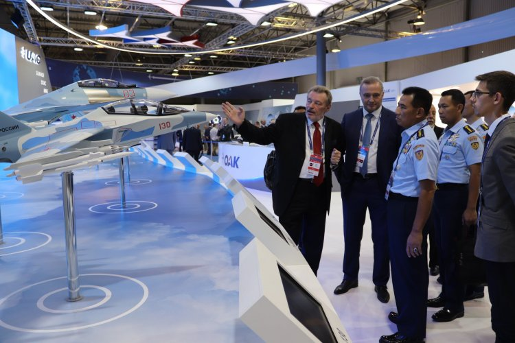 Attending MAKS 2019, Indonesian Air Force Chief of Staff Discusses Continuation of Su-35 Procurement