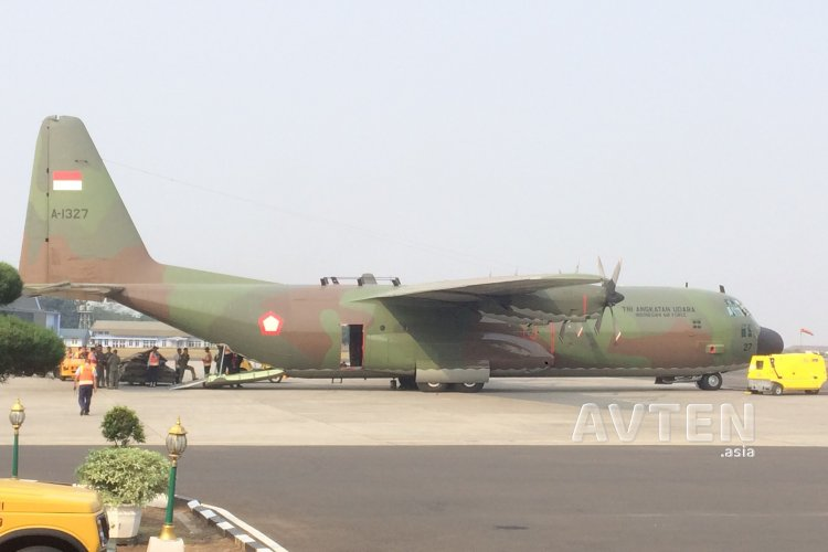 TNI AU's C-130H Will be the First Military Aircraft to Undergo Maintenance at GMF