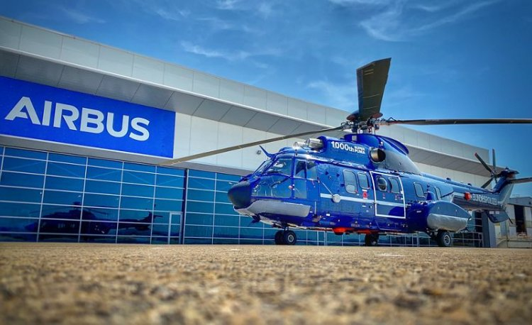 Airbus completes delivery of the 1,000th Super Puma helicopter